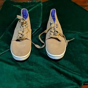 New Leather Upper Vans - Size 6